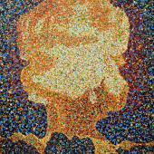 serie Detonaciones, 2015 / Acrílico sobre lienzo / 136 x 108 cm