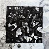 serie Cubos, 2014 / Mixta sobre tela / 90 x 90 cm